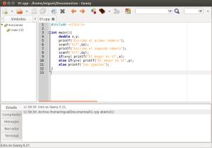 c++ en Ubuntu